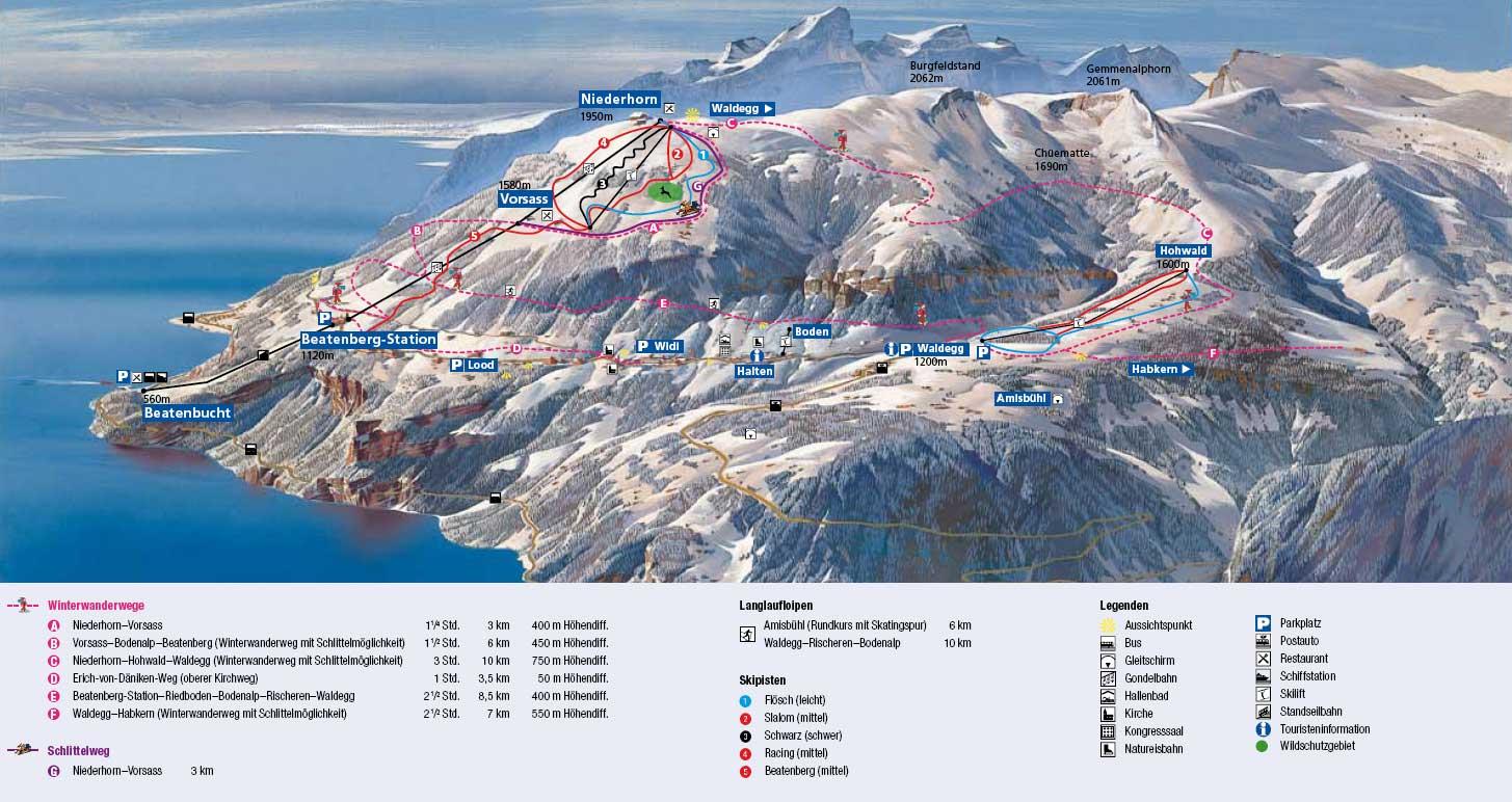 Beatenberg Switzerland Tourism