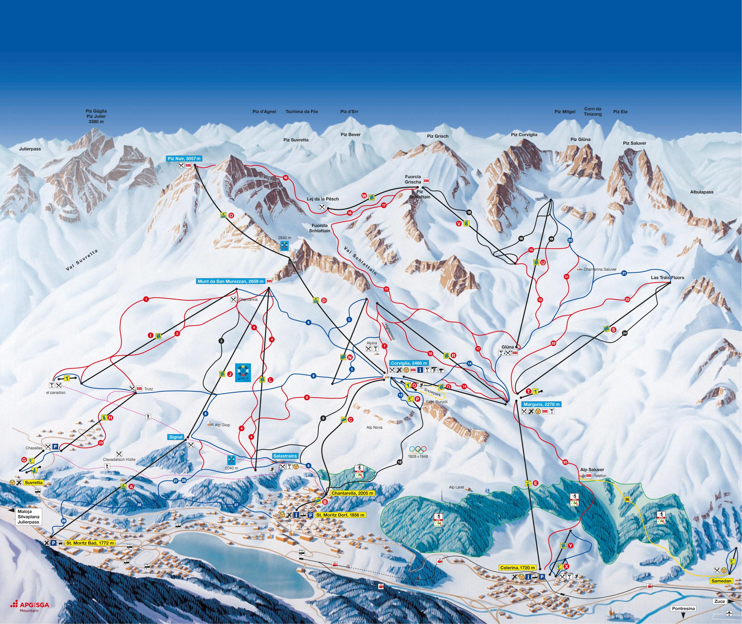 St Moritz Switzerland Tourism